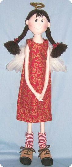 Формы для ремесел Ткань: Кукла Джуди