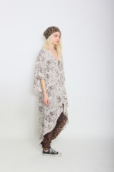 stevie kimono & perfect pant // panther party & leopard by flynn skye