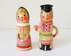 Vintage Russian dolls.