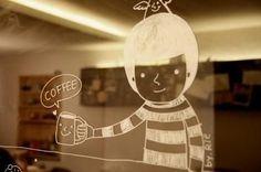 Desenho – Café / Imagens Fofas para Tumblr, We Heart it, etc
