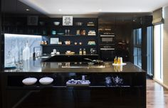 Bespoke Kitchen The Filaments Penthouse Collection Suna Interior Design Striking Three Bedroom Duplex Exuding a Vivid Personality in London