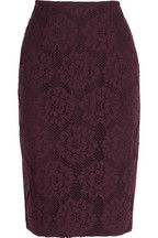 Burberry LondonCrocheted lace pencil skirt
