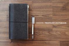 «PLANNER ADDICT» MIDORI TRAVELER'S NOTEBOOK SETUP