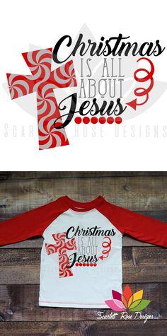 Jesus Christmas SVG cut file