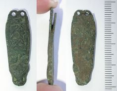 Record ID: DENO-2E7253 - EARLY MEDIEVAL strap end - Database