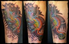 Jacksons Chameleon Tattoo Pictures At Checkoutmyinkcom