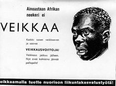 """This was an by Veikkaus ( Finnish gambling company). The ad says """" Only African N** doesn't gamle"""" Retro Ads, Vintage Ads, Map Pictures, Illustrations And Posters, Historian, Finland, Trending Memes, Funny Jokes, Nostalgia"""