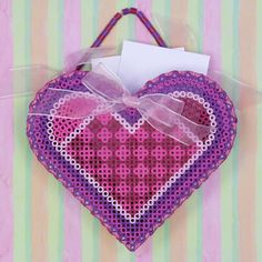 Valentine Mailbox Tutorial | Perler