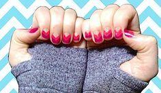 Spring/Summer 2013 Nail Art Design Trend: Chevron Nail Art Tutorial - How-To, Photos