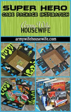 Military Care Package Inspiration - Or just for long distance relationships Deployment Care Packages, Deployment Gifts, Army Life, Sick Kids, Diy Crafts, Arts And Crafts, Homemade Gifts, Diy For Girls, Gifts For Kids