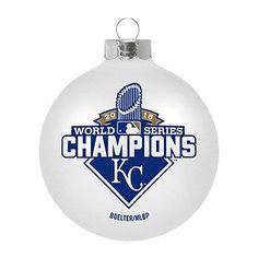 Kansas City Royals 2015 World Series Champions Ornament