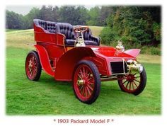 1903 Packard model F viadoyoulikevintage