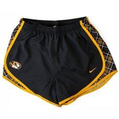 c1704a58b8 The Mizzou Store - Mizzou Nike Juniors' Oval Tiger Head Dri-Fit Black  Running Shorts