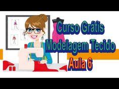 Curso Modelagem Tecido GRÁTIS - Como DRAPÊ e BOJO - 6/12