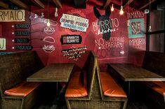 Cliente: Restaurante Barrita BurritoDiseño interior y branding: Plasma NodoProducción: Barrita BurritoClient: Restaurant Barrita BurritoInterior design and branding Plasma NodoProduction: Barrita BurritoMedellin, Colombia