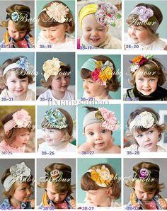 De 2013 nuevos niños accesorios para el cabello Girls tejido vendas de la manera nueva de accesorios para el cabello 10 piezas