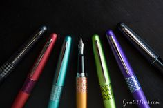 Pilot Metropolitan Fountain Pens now with stub nibs - yes!!