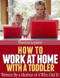 ~~ How to Work at Home with a Toddler ~~ If you want to work at home, but are wondering how you will manage to be productive with a toddler in the house, I am here to tell you it can be done!
