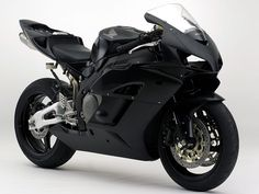 Matte Black Honda CBR 1000