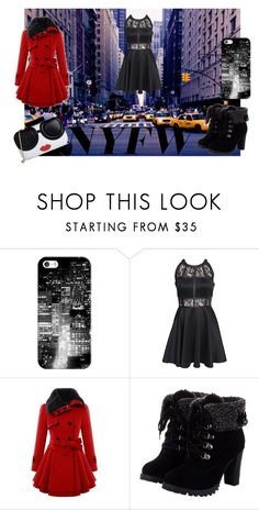 """Sin título #145"" by maria-milagro-malik ❤ liked on Polyvore featuring Casetify, AX Paris and Alice + Olivia"