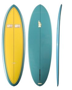 My New Surfboard - 6'0 Joel Tudor Single Fin