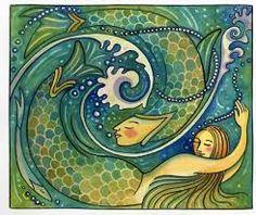mermaid illustration - Cerca con Google
