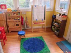 play space organization ideas