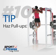 Los Pull-ups no solo son impresionantes sino que además trabajan varios músculos. http://www.acefitness.org/exerciselibrary/191/pull-ups