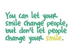 Smile, it'll make life just that little bit brighter. meaningful and inspirational quotes and sayings Amazing Quotes, Cute Quotes, Great Quotes, Quotes To Live By, Funny Quotes, Fun Sayings, Random Quotes, The Words, Cool Words