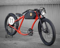 retro OTO electric bicycles reach 65 km/h and feature start-stop system