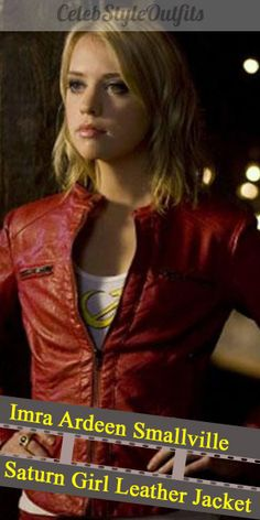 """Free Shipping On """"Imra Ardeen Smallville Saturn Girl Leather Jacket"""" <3  #leatherjacket #jacket #jackets #leatherjackets #coat #costume #fashionistas #fashion #lifestyle #style #outfits #outfitideas #clothing #tvshow #tvseries #movie #imraardeen #smallville #saturngirl #entertainment #film #outwear #apparel Saturn Girl, Smallville, Supergirl, Tv Series, Tv Shows, Leather Jacket, Entertainment, Celebs, Movie"""