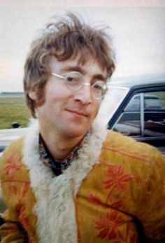 "Sassy John Lennon, West Malling Airfield (site of the ""I Am the Walrus"" video), 1967"