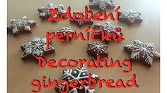 Decorating gingerbreads | Zdobení perníků  PK stuff&fun - YouTube - YouTube