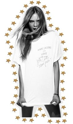 oh-my-glamour: cara my shining star by clara-makensie on Polyvore