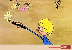 Zaczarowany ołówek – animowany serial rysunkowy zrealizowany w Studio Małych Form Filmowych Se-ma-for w latach 1964-1977, o przygodach chłopca imieniem Piotrek i pieska, którym w rozwiązywaniu najróżniejszych problemów pomaga zaczarowany ołówek. Wszystko, co nim narysują, materializuje się.Obok postaci Piotrka i jego psa, ważną rolę w bajce odgrywa także krasnoludek, który zaopatruje chłopca w kolejne egzemplarze zaczarowanego ołówka. Poland Country, Visit Poland, Good Old Times, Inner Child, Quote Posters, Bratislava, Retro, My Children, Akita