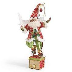 Mark Roberts Christmas List Fairy Stocking Holder