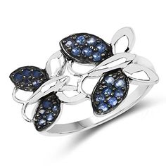 Butterfly Rings in Sterling Silver and (Semi)Precious Stones  925 Silver Ring with Genuine Blue Sapphire. $51 Mother Birthday, 21st Birthday Gifts, 35th Birthday, Cute Christmas Gifts, Elegant Christmas, Christmas 2019, 925 Silver, Silver Rings, Sterling Silver