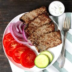 These Paleo Gyros are easy to make and just as delicious as any greek restaurant. Made with quality ingredients that you can feel good about. Gluten free, dairy free, and whole30 compliant!