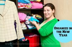 Organize your closet in the #newyear #decorate