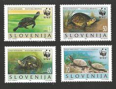Slovenija stamps wwf. 1996