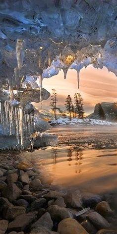 **Icecles at Banff National Park in Alberta Canada photo: Robert Beideman on Orenco Photography Club by Gloria Cote Beautiful World, Beautiful Places, Landscape Photography, Nature Photography, Winter Photography, Landscape Photos, Adventure Photography, Photography Tips, Winter Beauty