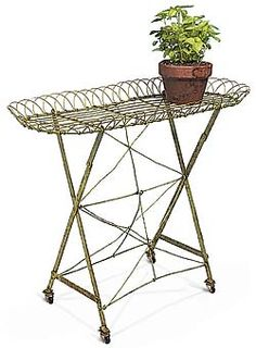 Green Folding Plant Stand $117.90