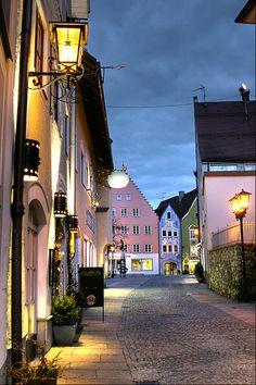 Fussen, Germany. Photo by Ran Mayo.