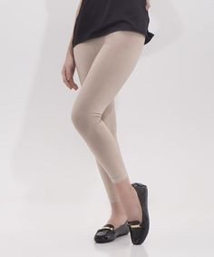Look what I found on #zulily! Gold Dust Leggings - Plus Too #zulilyfinds