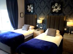 Well appointed boutique style rooms which offer comfort and style.  www.theclifton.co.uk