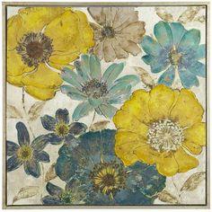 Gilded Flowers Art