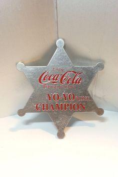 Rare & Vintage Coca-Cola Yo-Yo Russell Champion by MyCoffeeBoy