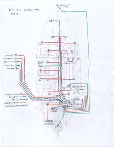 boat wiring diagram boat pinterest diagram boating. Black Bedroom Furniture Sets. Home Design Ideas