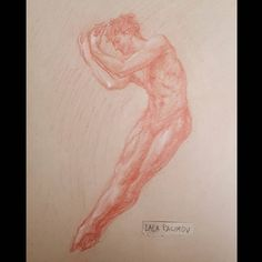 Lala Ragimov. Study of a dancer (Marian Walter) General's sanguine pencil on Strathmore toned tan  sanguine ballet tonedtan balletboy boysofballet   sculpture  classicalart figurative figurativeart  figuredrawing lifedrawing drawing malemodel nude malenudeart muscles sketchbook art drawanyway classicaldrawing classicalart redchalk обнаженка academic drawing academic realistic