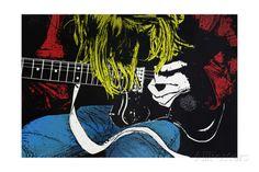 オールポスターズの アレックス・チェリー「Kurt」ポスター